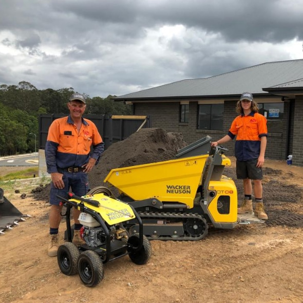 Coastal Dingo Hire - Wacker Neuson